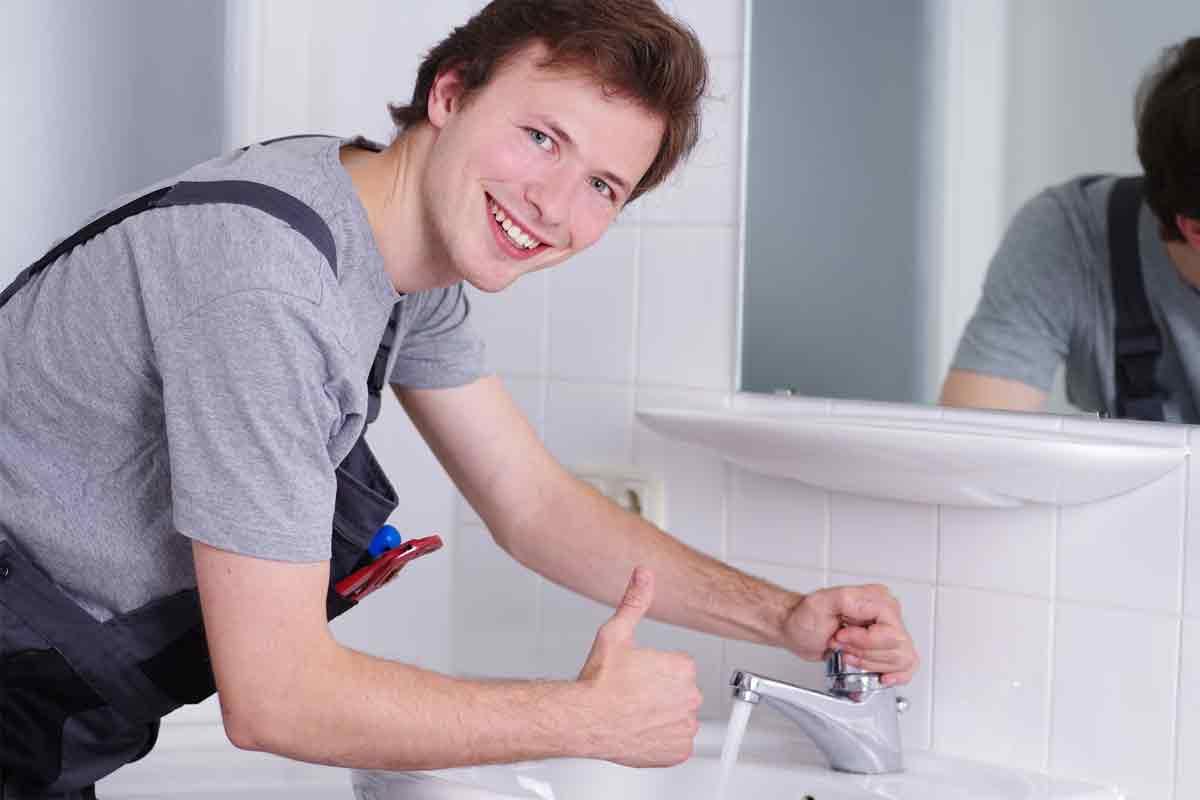 Qualifizierte Reparaturen im Sanitärbereich